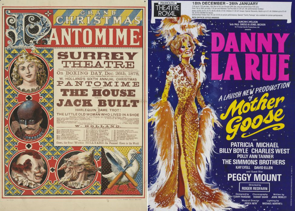 Pantomime posters