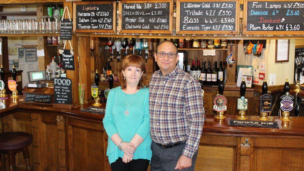 Graham and Janette Browett