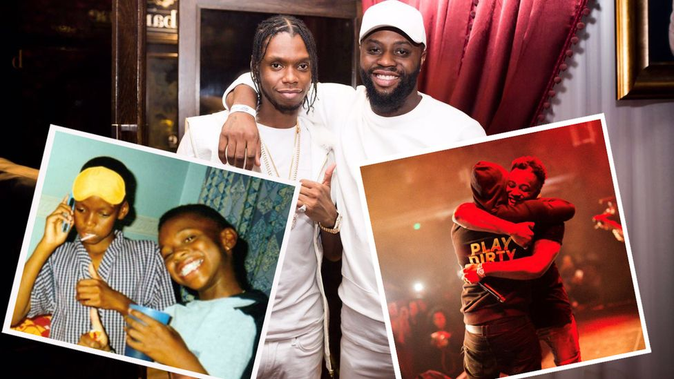Collage of Krept and Cadet through the years