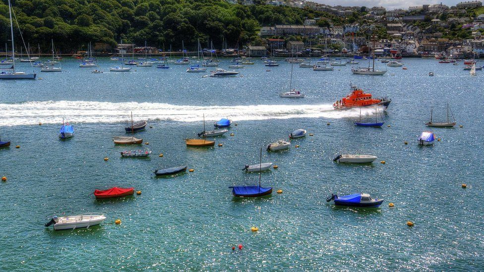 Lifeboat in Cornwall
