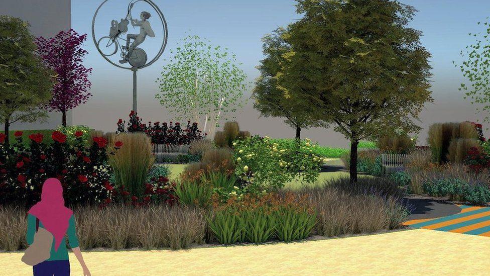 Syd's Garden artist's impression