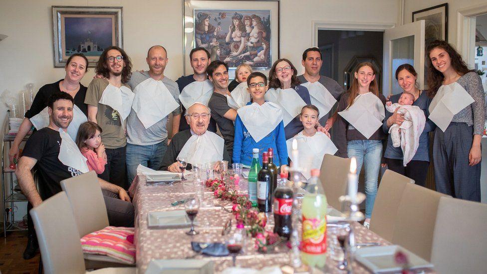 The extended Kichka family