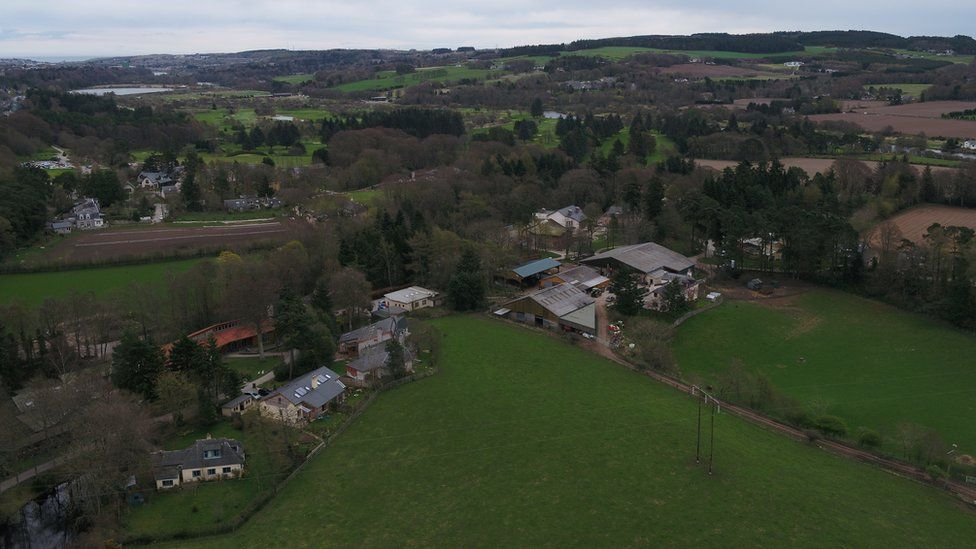 Newton Dee from above