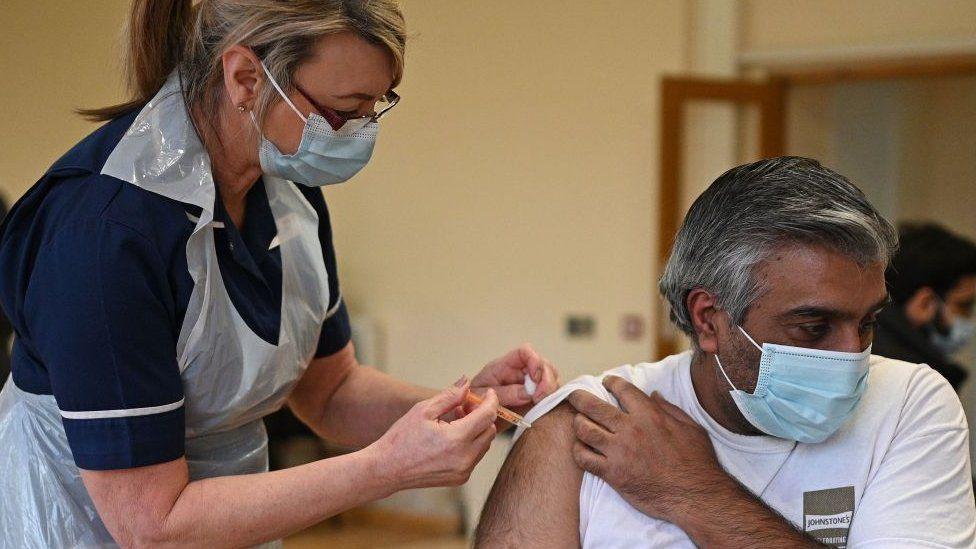 Vaccination by a nurse