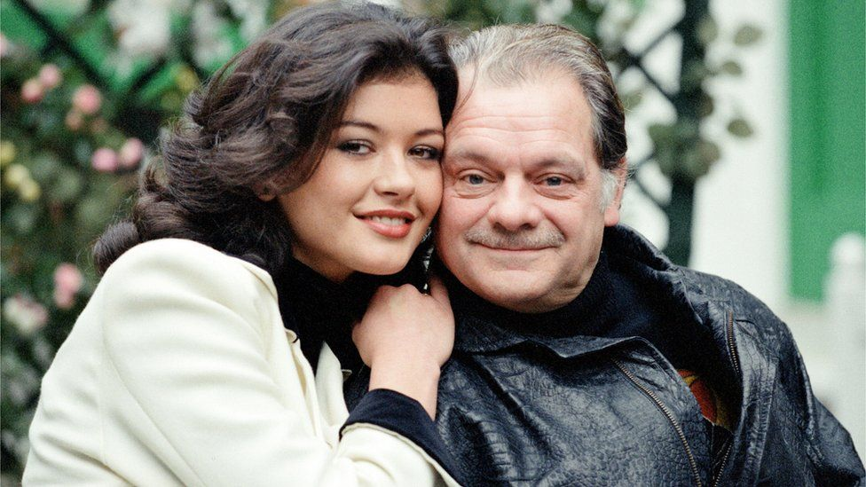 Zeta-Jones and David Jason in The Darling Buds of May