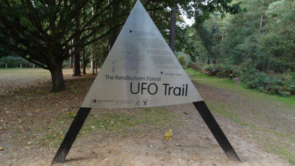Rendlesham Forest UFO Trail