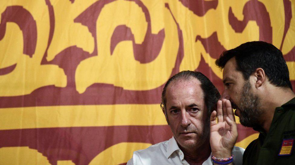 Italians await Salvini's comeback in his Veneto heartland