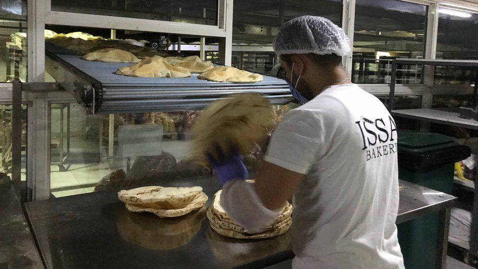 Lebanese baker