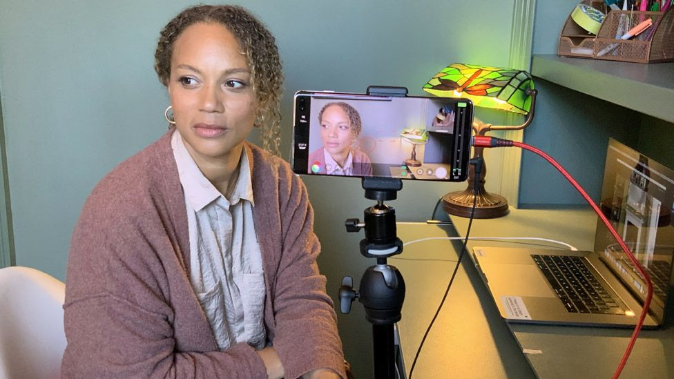 Angela Griffin in ITV's Isolation Stories