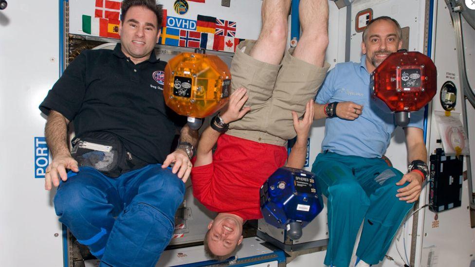 Richard Garriott on the International Space Station