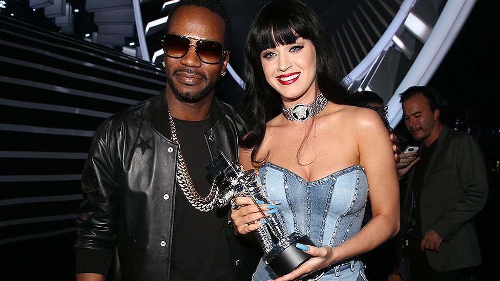 Juicy J and Katy Perry
