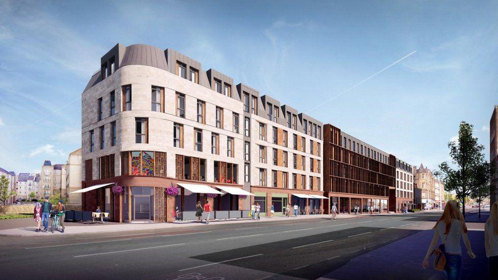 Stead's Place Leith Walk development