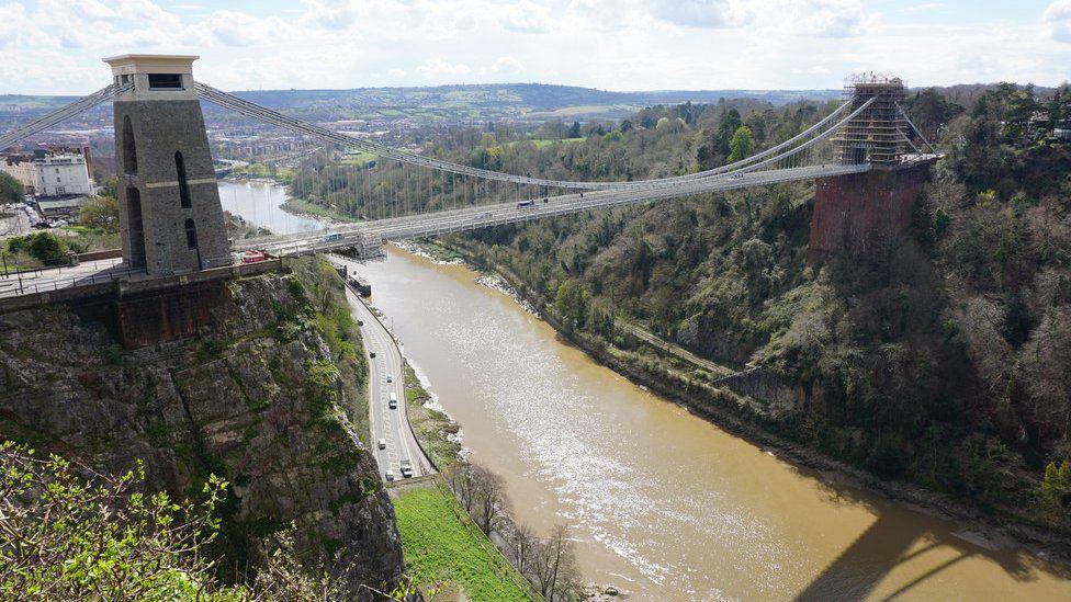 The Bristol suspension bridge