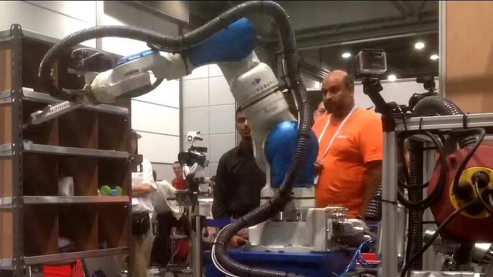 Team Delft robot arm