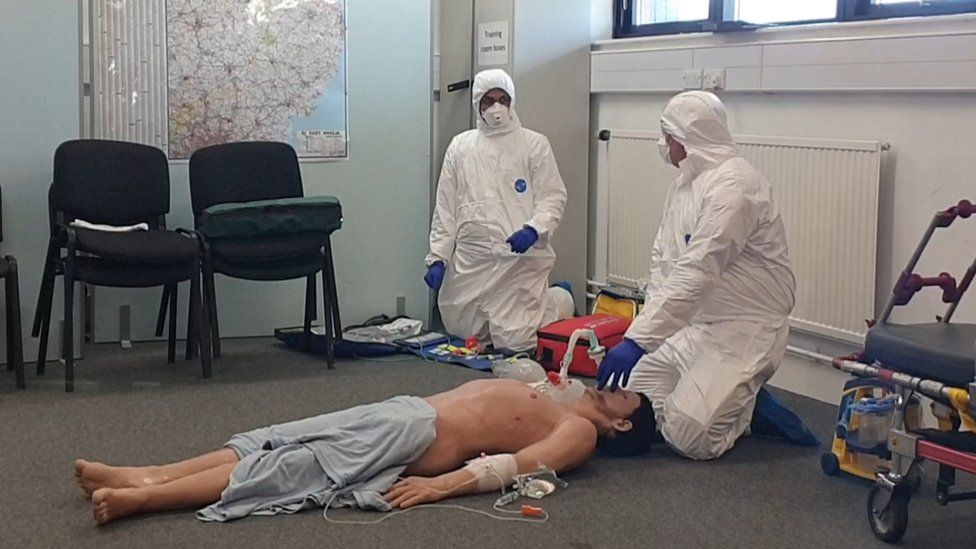 Simulation with team in PPP kit