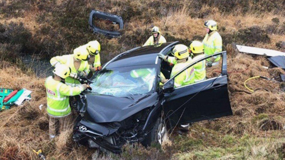 Sharon Anslow's crash