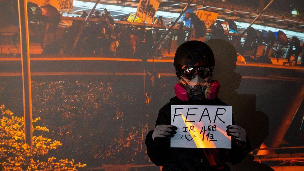 Protester - Fear