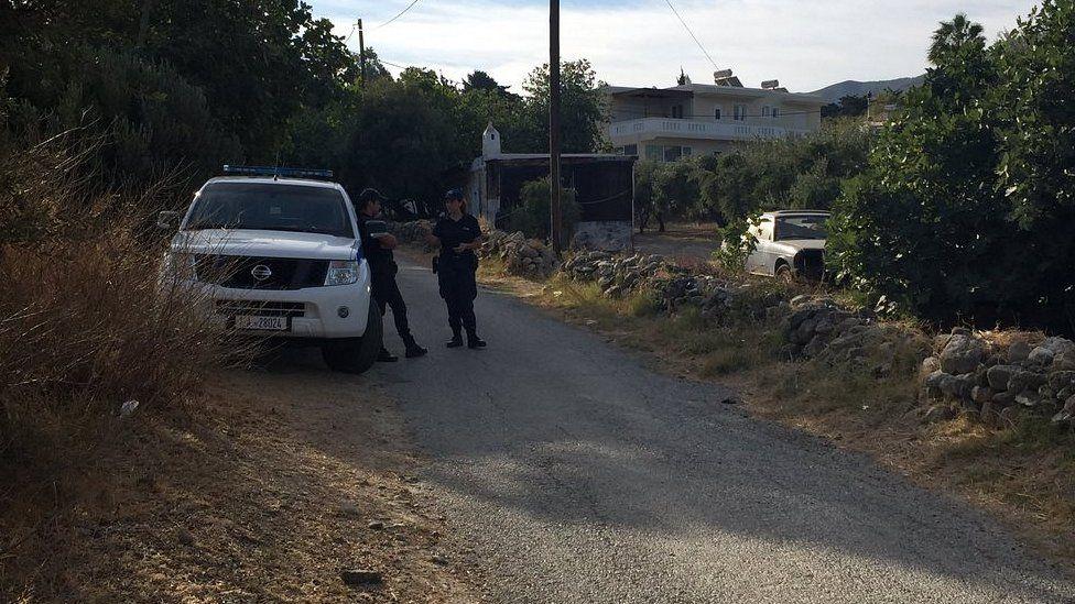 Police close off lane