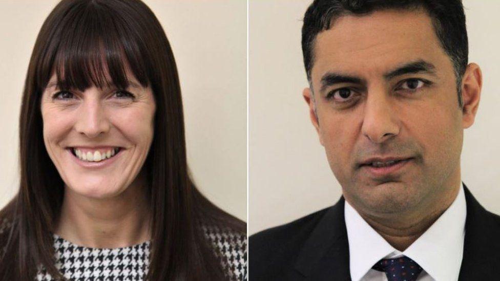 Catherine Hutley and Nardeep Sharma