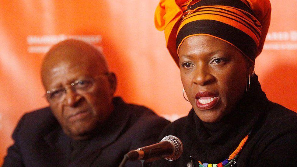 Archbishop Emeritus of Cape Town Desmond Tutu and Reverend Mpho Andrea Tutu