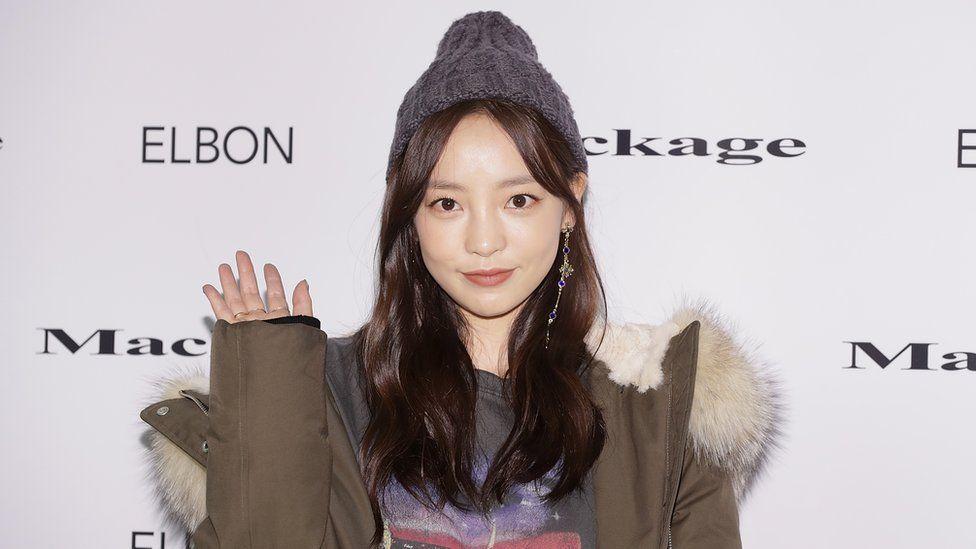 Former member of South Korean girl group KARA