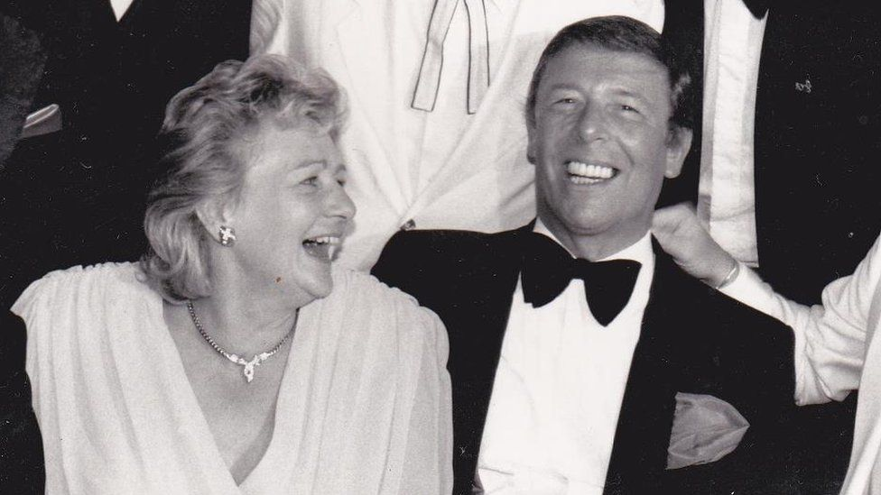 Les Reed with his wife June