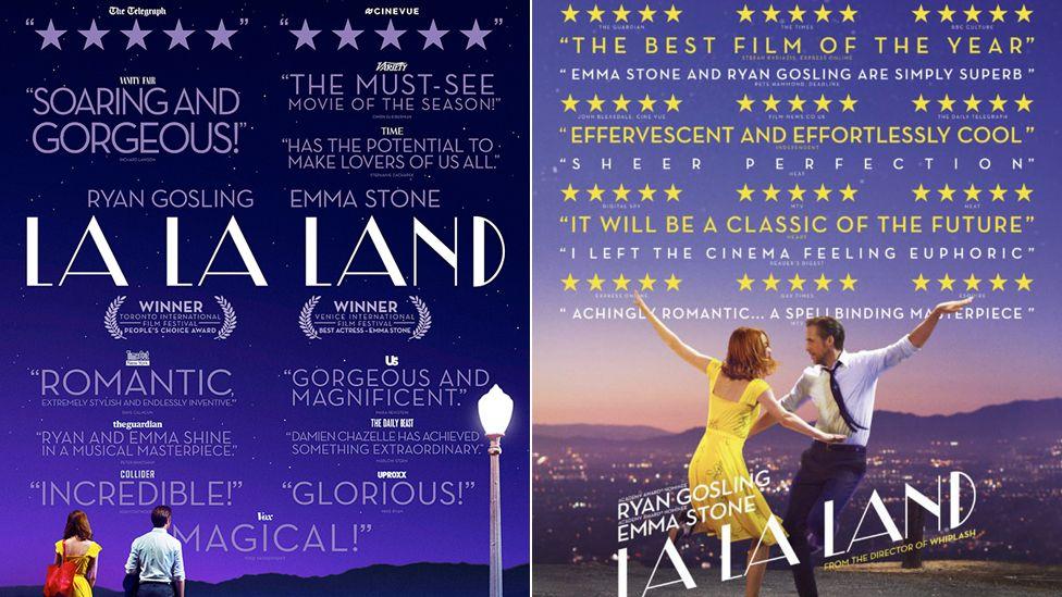 La La Land promotional posters