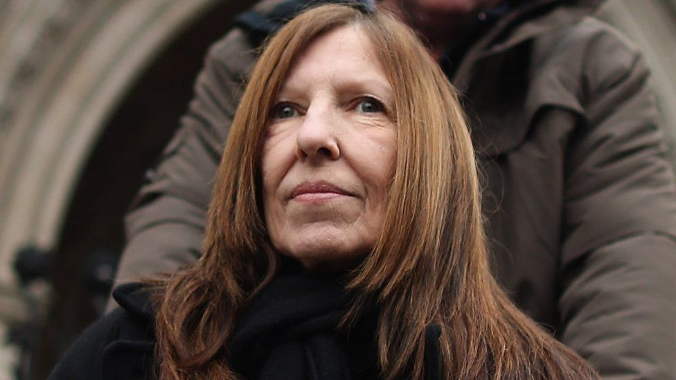 Anne Williams pictured in December 2012, four months before her death
