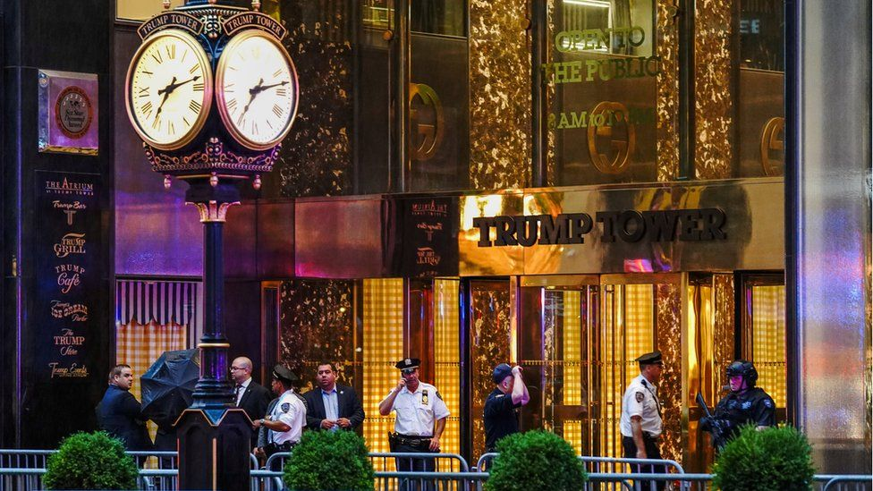 Trump Tower on 5th Avenue in New York City, U.S., July 27, 2018.