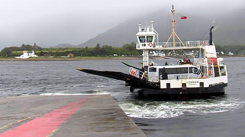 The Corran Ferry