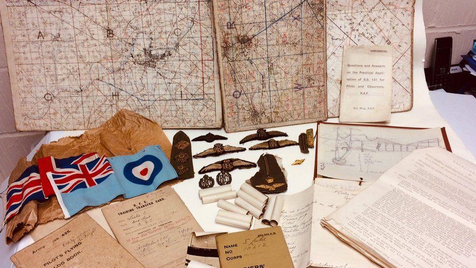 Pilot memorabilia