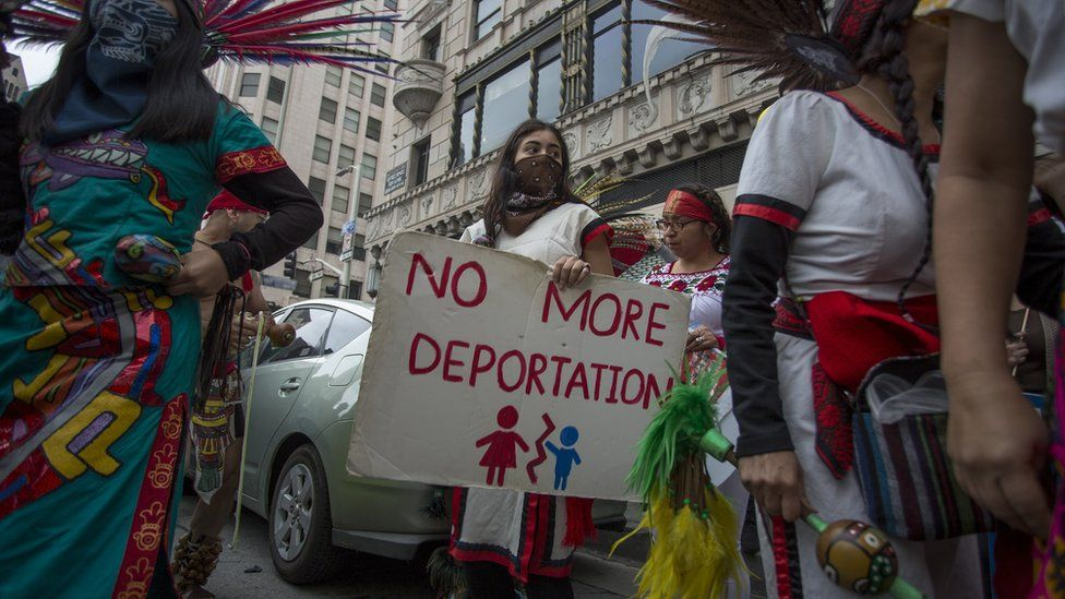 Immigrants Make America Great protest, Los Angeles, 18 February 2017
