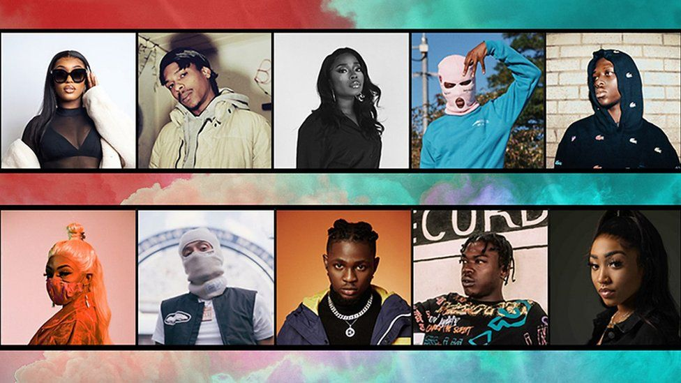 Picture of everyone in 1Xtra's Hot For 2021 list