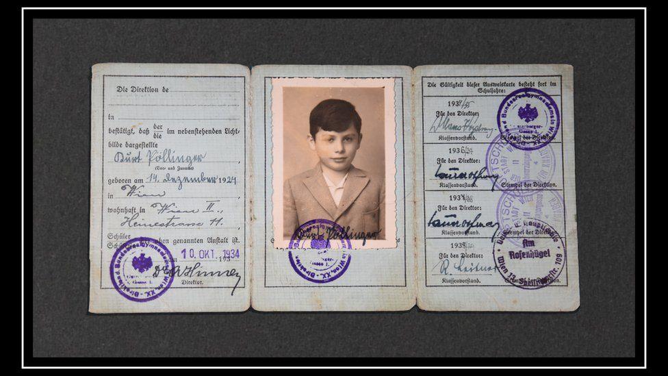 e774320a6c14 El niño que fue dejado atrás por su madre en la Viena nazi - BBC ...