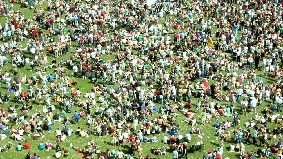 Crowd at T in the Park festival