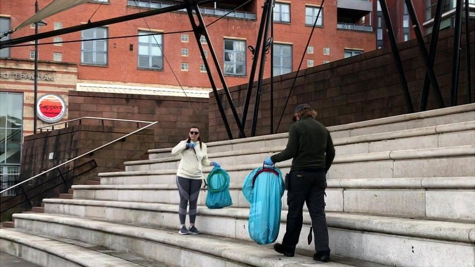 Castlefield clean up