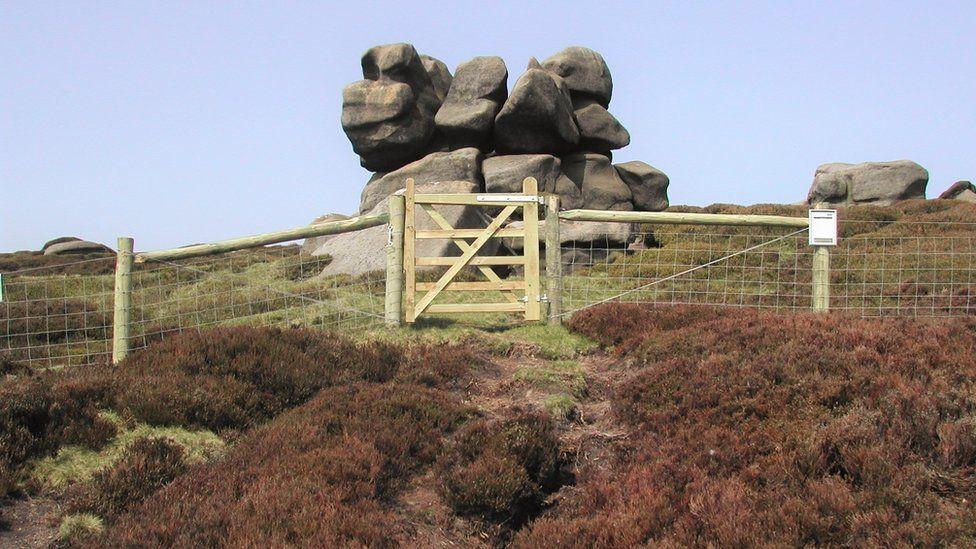 Stones in the Peak District