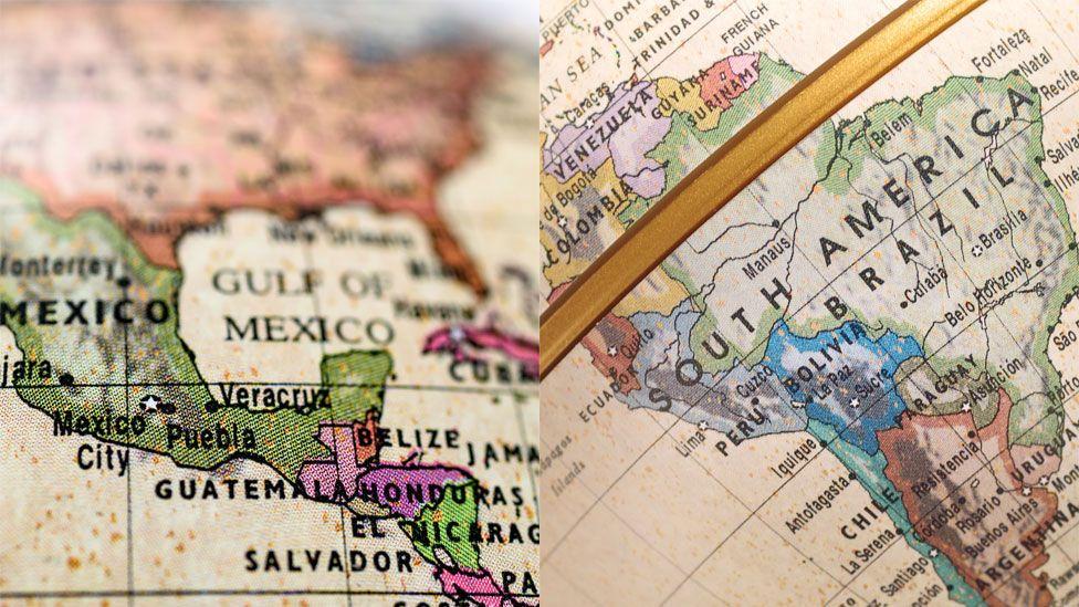Qual a origem dos nomes dos países da América Latina?