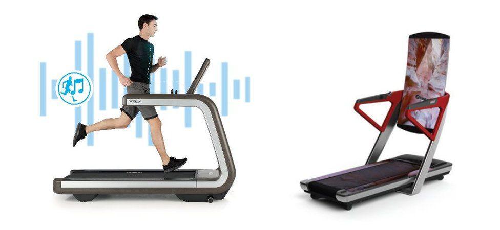 Technogym and iFit treadmills