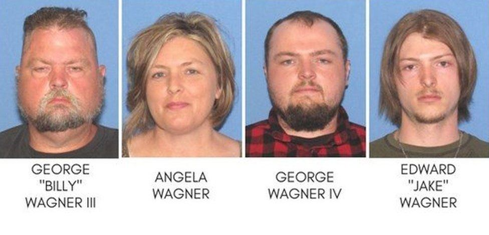 The family who are accused of murder