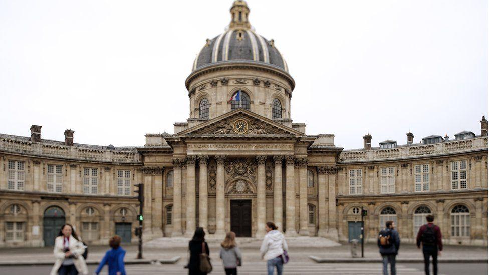 The headquarters of the Académie française