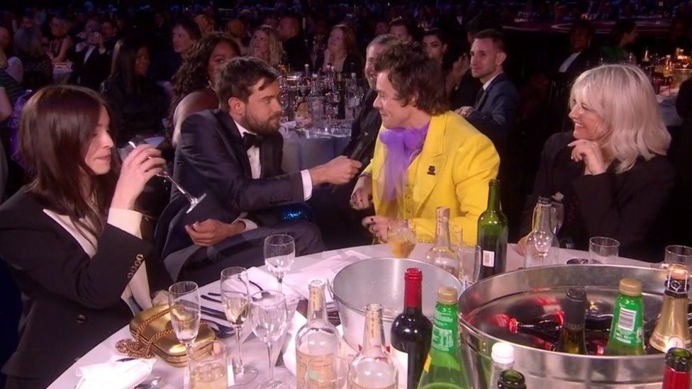 Jack Whitehall and Harry Styles