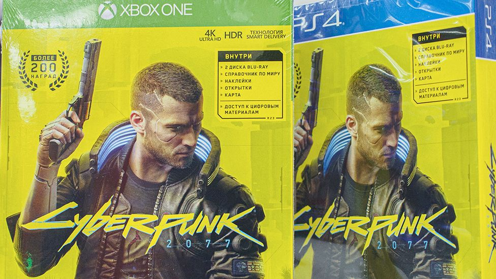 Cyberpunk 2077 on Xboc and PS4