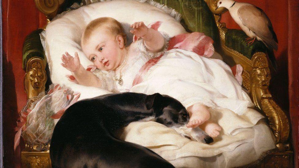 Sir Edward Landseer. Victoria Princess Royal