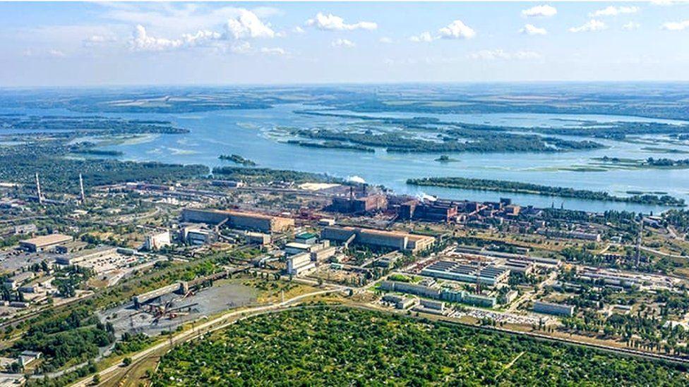 Ferrexpo processing plant in Ukraine