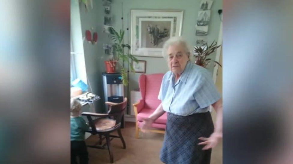 Doreen Livermore in the care home