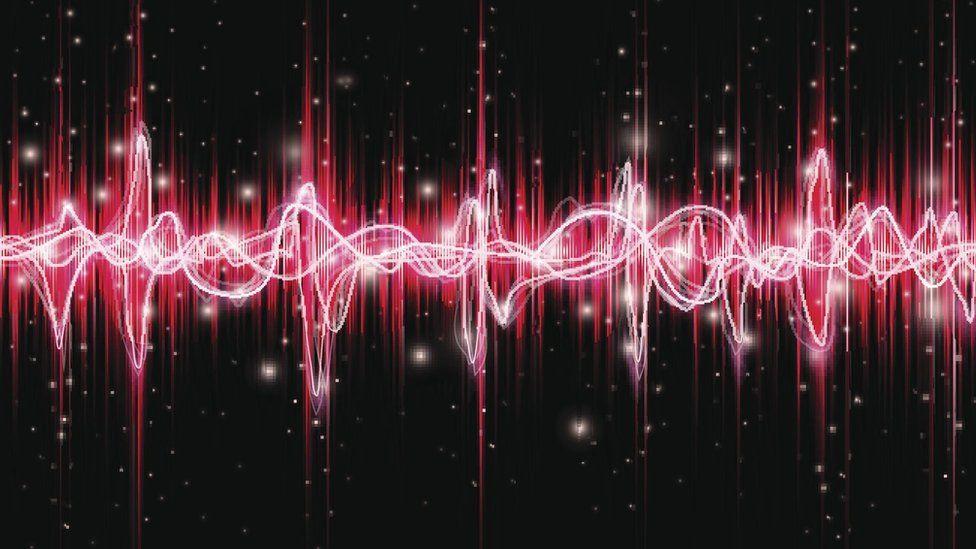 Voice waveform