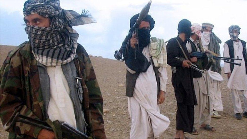 Taliban militants in Afghanistan. File photo