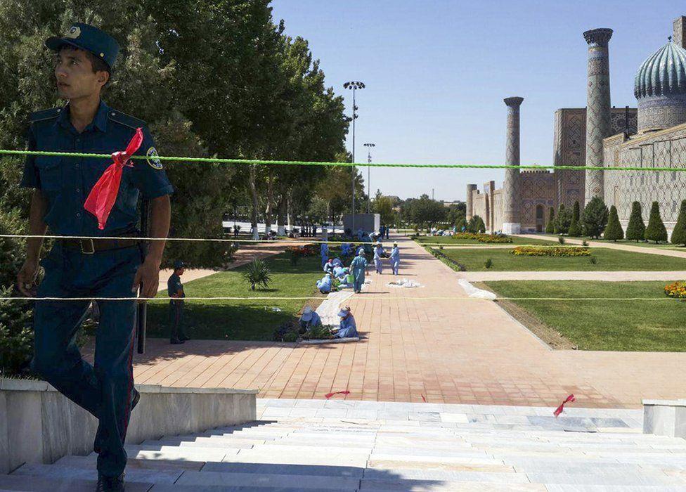 Samarkand, 2 September