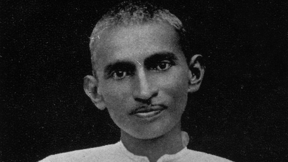 Mahatma Gandhi (Mohandas Karamchand Gandhi) (1869 - 1948) when a young man in South Africa. (Photo by Hulton Archive/Getty Images)
